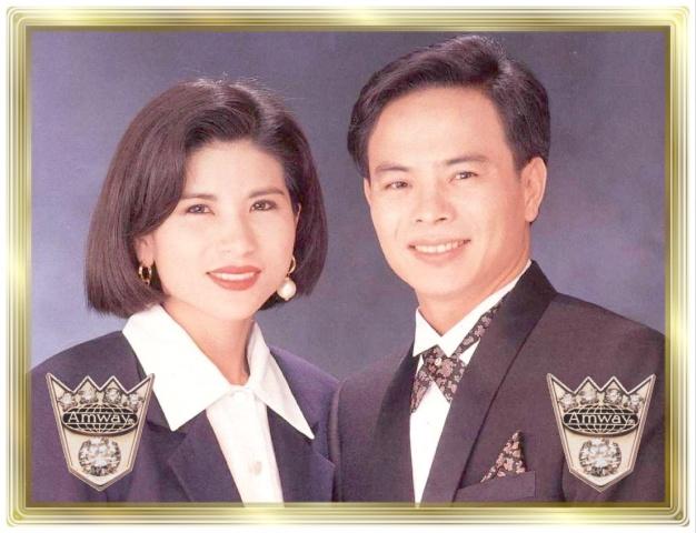 Amway Founders Crown Ambassadors 55 FAA Sunny Hsu & Debra Hsieh